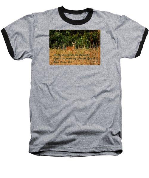 The Deer Baseball T-Shirt