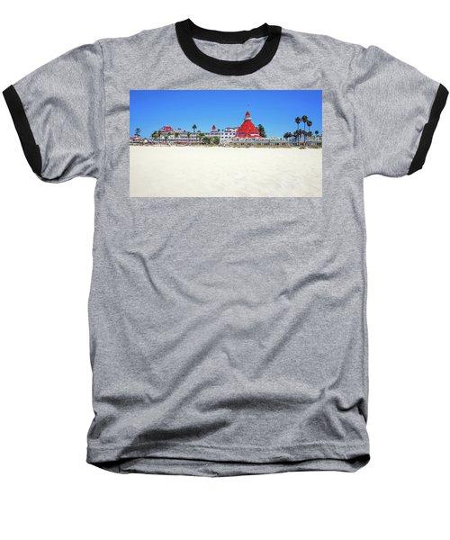 The Del Coronado Hotel San Diego California Baseball T-Shirt