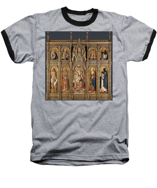 The Demidoff Altarpiece Baseball T-Shirt