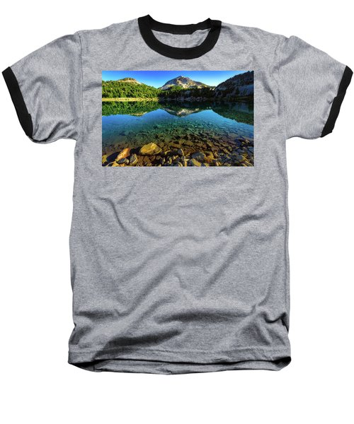 The Depths Of Lake Helen Baseball T-Shirt