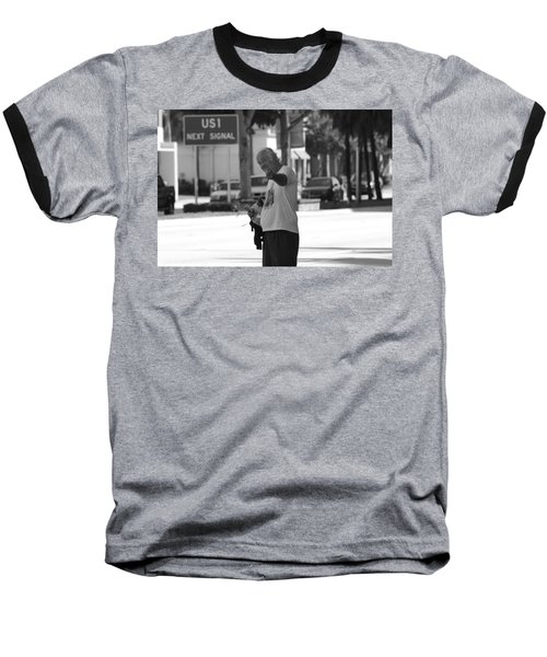 Baseball T-Shirt featuring the photograph The Devil Man by Rob Hans