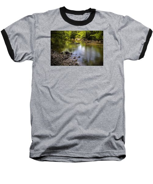 Baseball T-Shirt featuring the photograph The Devon River by Jeremy Lavender Photography