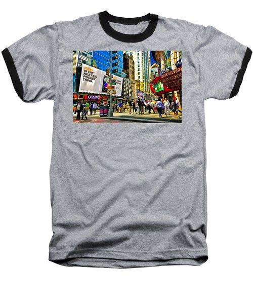 The Dirty Old City -nyc Baseball T-Shirt