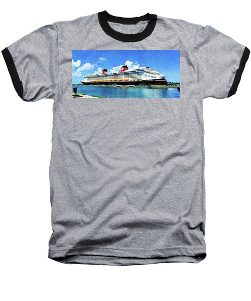 The Disney Dream In Nassau Baseball T-Shirt