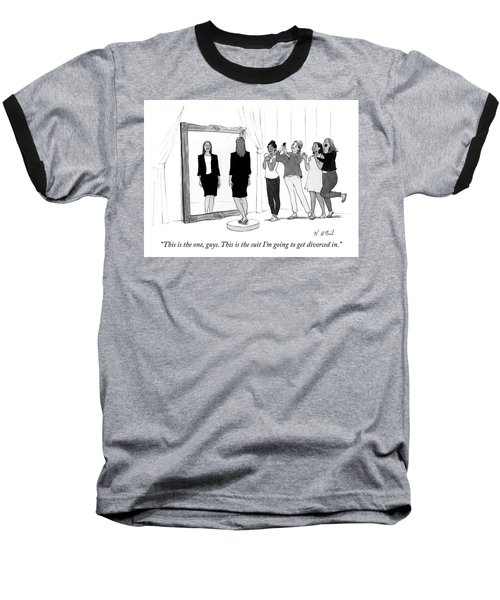 The Divorce Suit Baseball T-Shirt