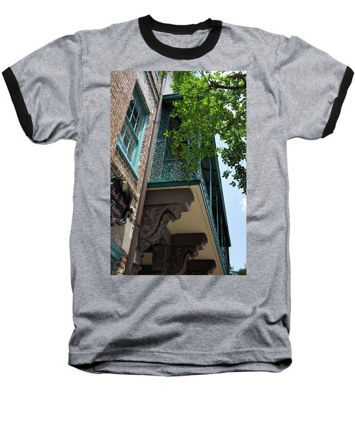 The Dock Baseball T-Shirt by Ed Waldrop