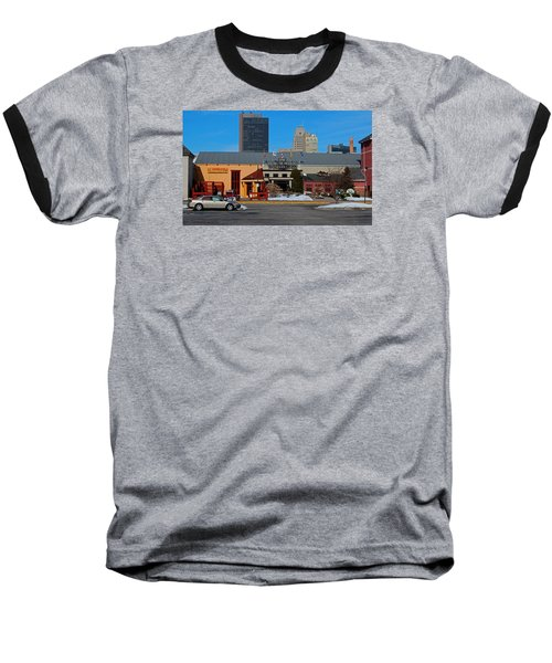 Baseball T-Shirt featuring the photograph The Docks by Michiale Schneider