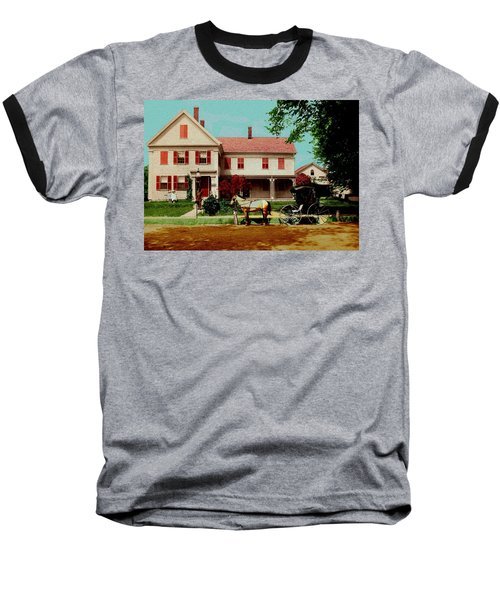 The Doctor Heads Out On A House Call Baseball T-Shirt