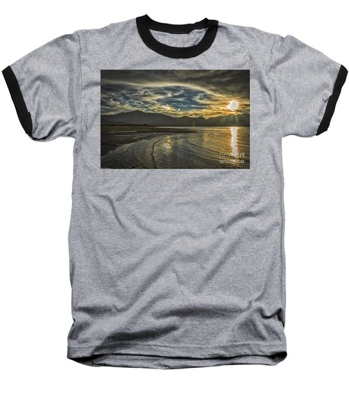 The Dog Days Of Summer Baseball T-Shirt by Mitch Shindelbower