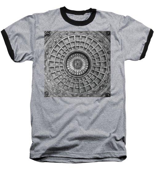 The Dome Bw  Baseball T-Shirt