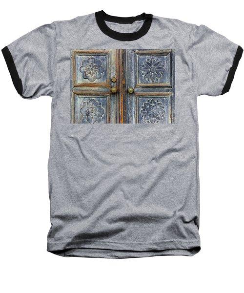 The Door Baseball T-Shirt by Ranjini Kandasamy