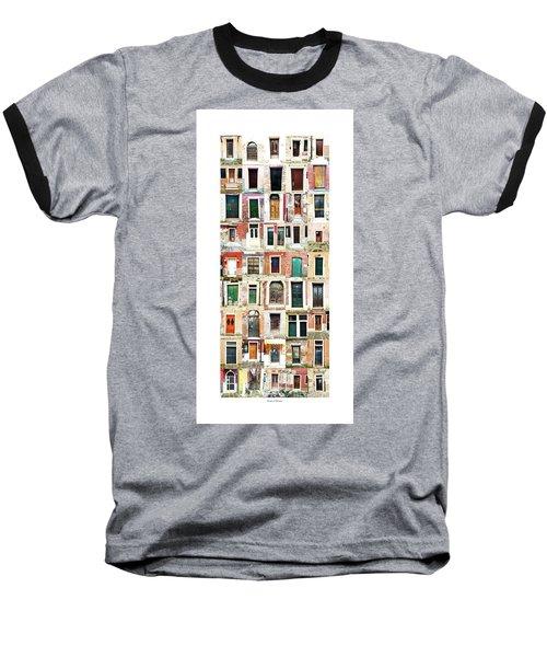 The Doors Of Murano Italy Baseball T-Shirt