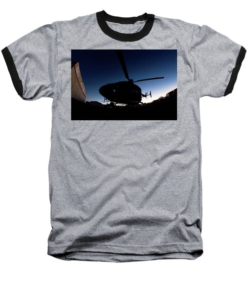 Baseball T-Shirt featuring the photograph The Dot by Paul Job
