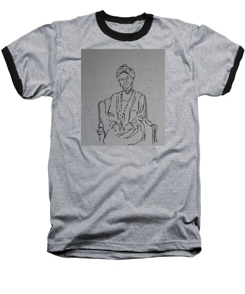 The Dowager Countess In Her Drawing Room At Dowton Abbey Baseball T-Shirt