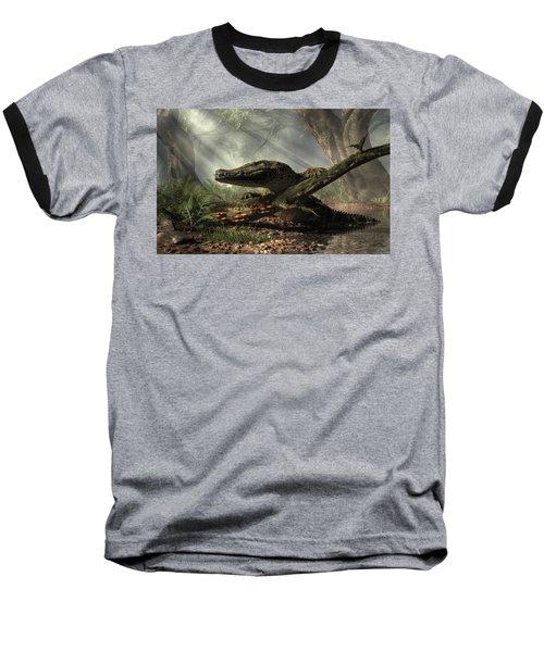 The Dragon Of Brno Baseball T-Shirt