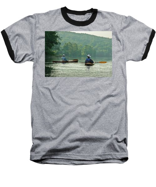 Baseball T-Shirt featuring the photograph The Dreamers by Tom Cameron