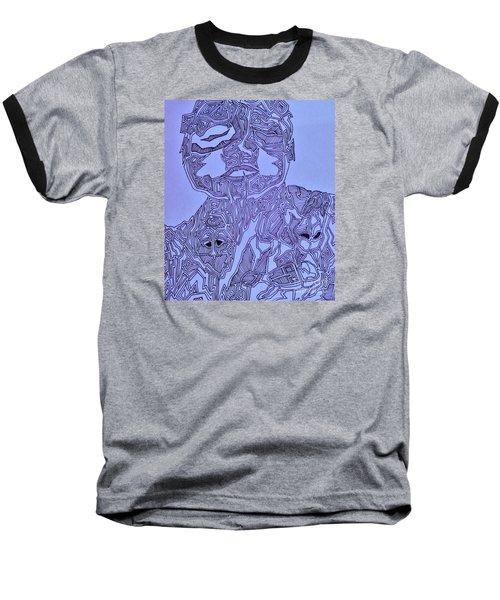 The Dreaming Man Baseball T-Shirt