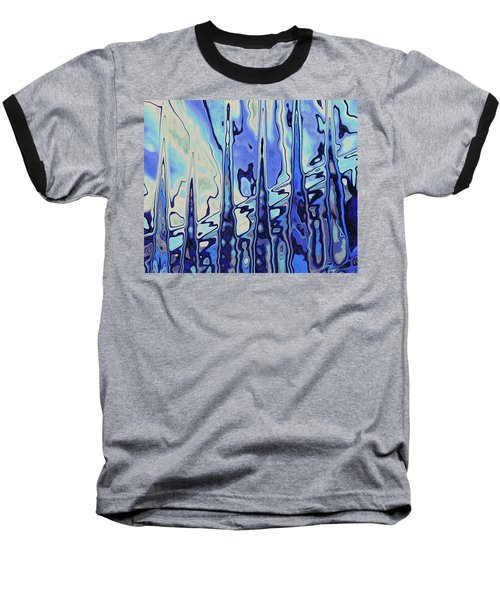 Baseball T-Shirt featuring the digital art The Drowsy Conversation by Wendy J St Christopher
