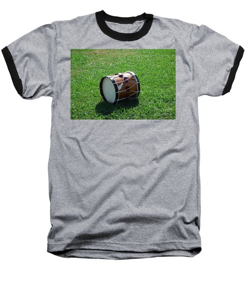 The Drum Baseball T-Shirt by Eric Liller