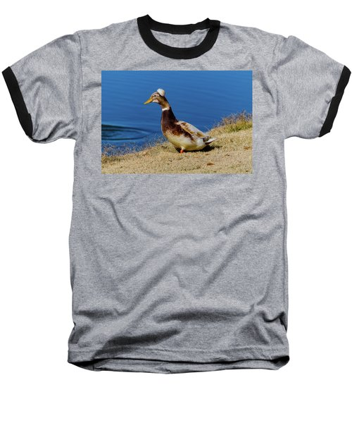 The Duck With The Pillbox Hat Baseball T-Shirt