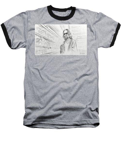 The Dude Abides Baseball T-Shirt