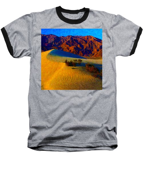 The Dunes At Dusk Baseball T-Shirt