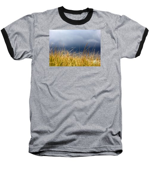 Baseball T-Shirt featuring the photograph The Tall Grass Waves In The Wind by Dana DiPasquale