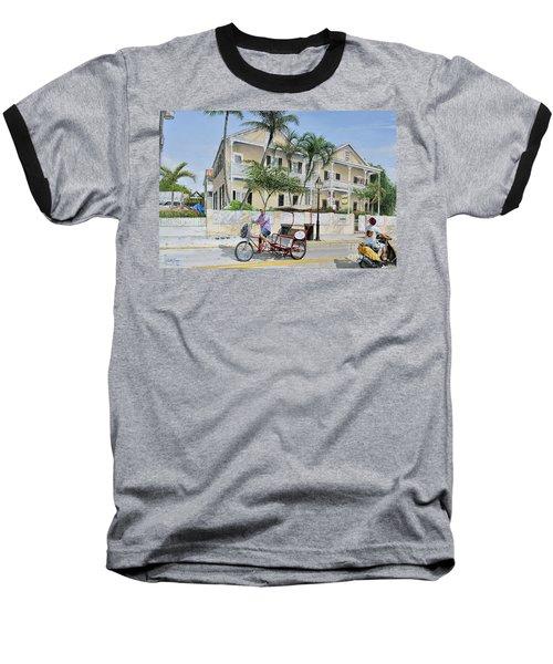 The Duval House, Key West, Florida Baseball T-Shirt