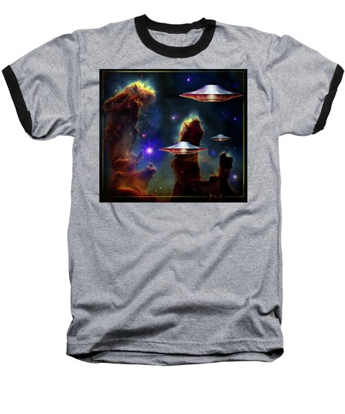 The  Eagle  Nebula  Baseball T-Shirt