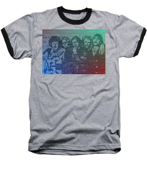 The Eagles Hotel California Baseball T-Shirt
