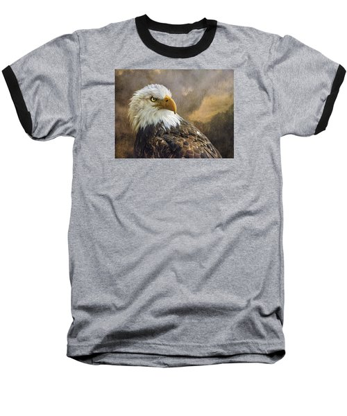 The Eagle's Stare Baseball T-Shirt