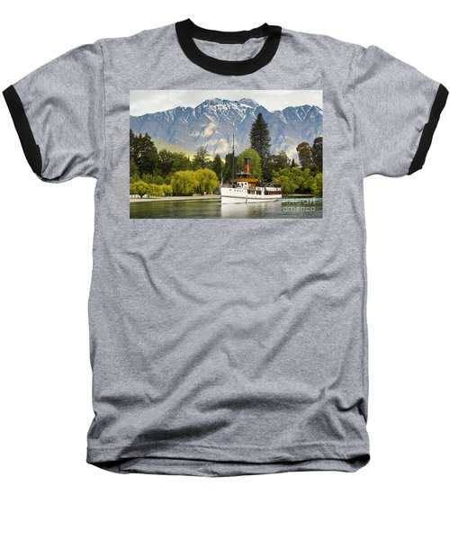 Baseball T-Shirt featuring the photograph The Earnslaw by Werner Padarin