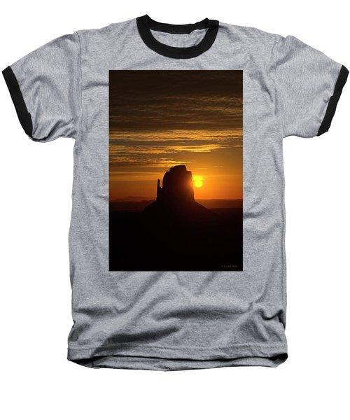 The Earth Awakes Baseball T-Shirt
