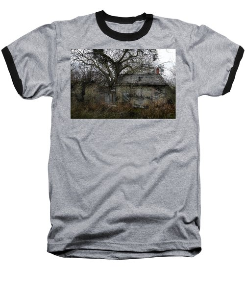 The Earth Reclaims Baseball T-Shirt by Jim Vance