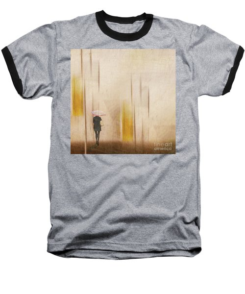 Baseball T-Shirt featuring the photograph The Edge Of Autumn by LemonArt Photography