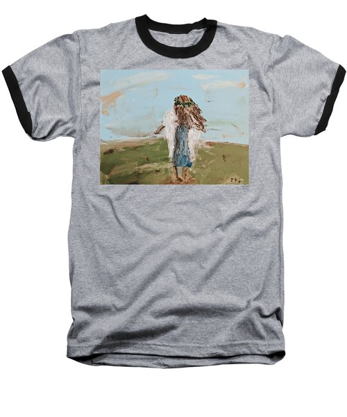 The Edge Of The Field Baseball T-Shirt