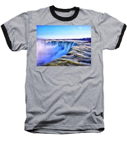 The Edge Of The World Baseball T-Shirt