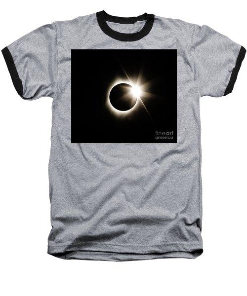 The Edge Of Totality Baseball T-Shirt