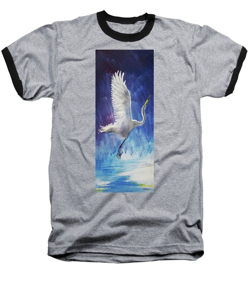 The Egret Baseball T-Shirt