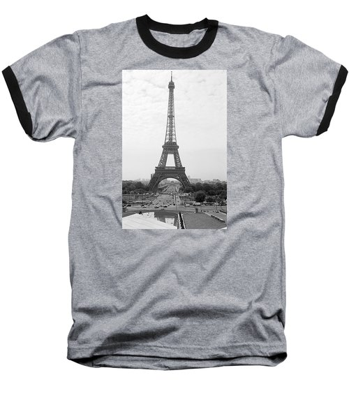 The Eiffel Tower Baseball T-Shirt