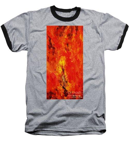 The Elements Fire #1 Baseball T-Shirt