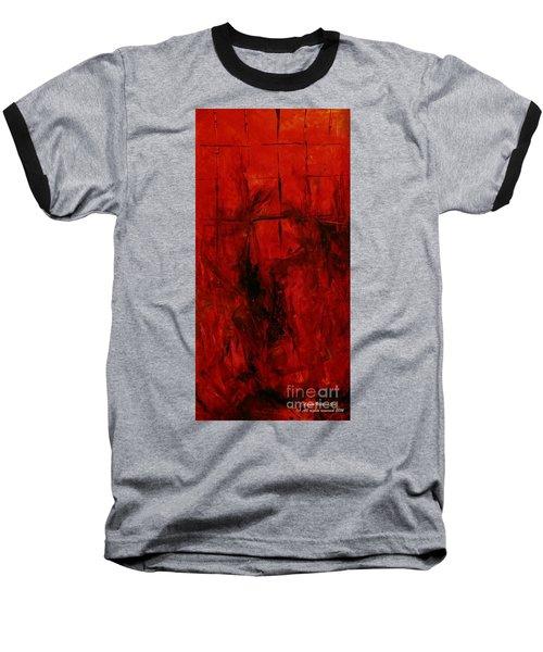The Elements Fire #3 Baseball T-Shirt