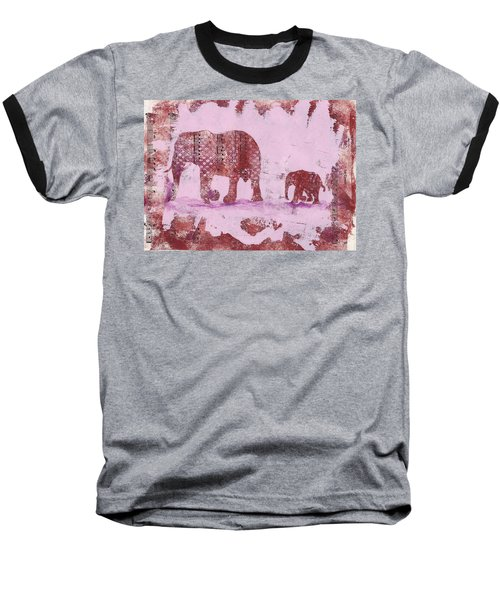 The Elephant March Baseball T-Shirt
