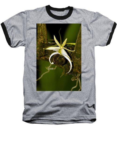 The Elusive And Rare Ghost Orchid Baseball T-Shirt