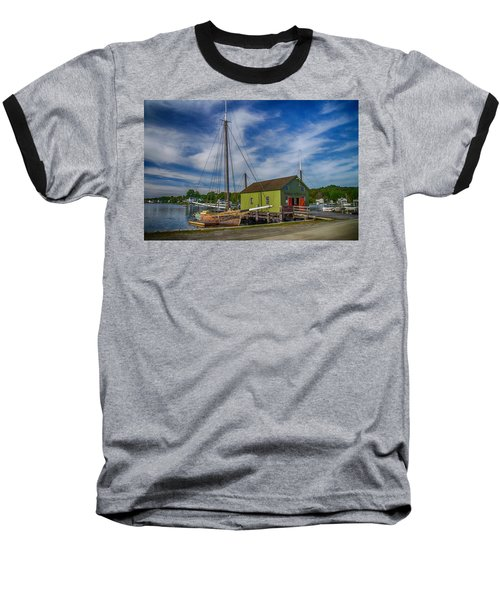 The Emma C. Berry, Mystic Seaport Museum Baseball T-Shirt