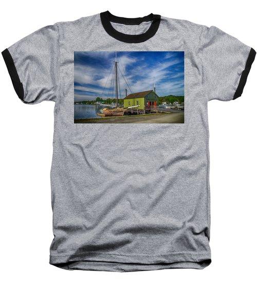 The Emma C. Berry, Mystic Seaport Museum Baseball T-Shirt