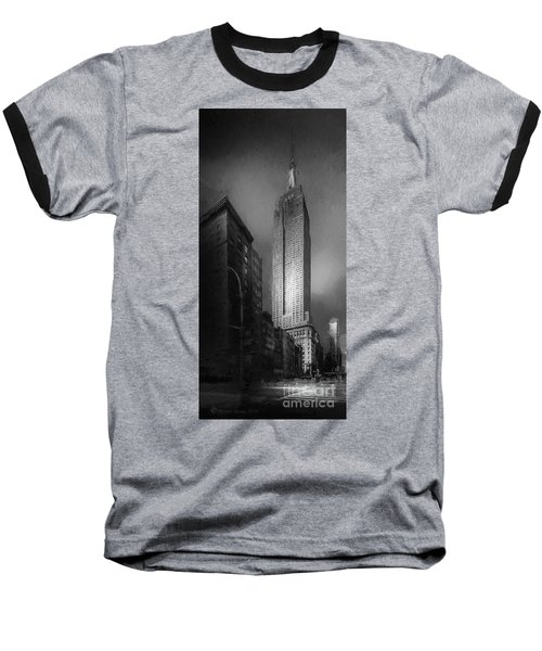 Baseball T-Shirt featuring the photograph The Empire State Ch by Marvin Spates