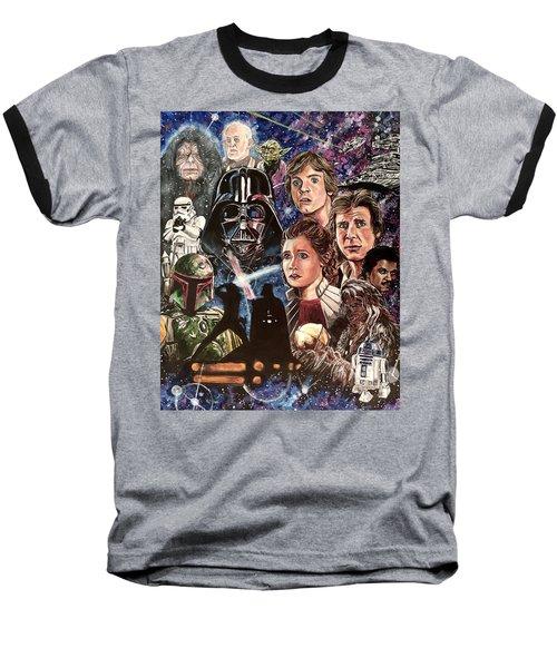 The Empire Strikes Back Baseball T-Shirt