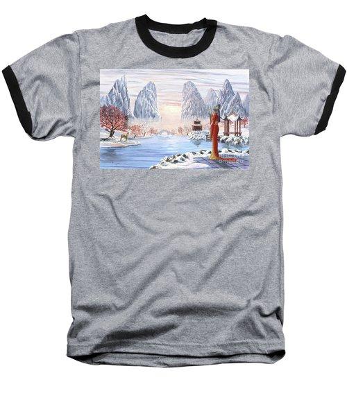 The Empress And The Unicorn Baseball T-Shirt