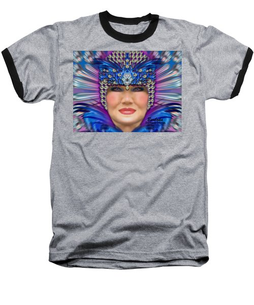 Baseball T-Shirt featuring the photograph The Empress by Barbara Tristan
